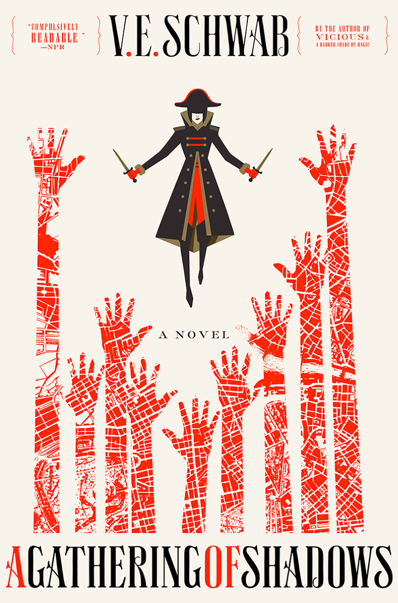 A Gathering of Shadows (Shades of Magic, #2) by V.E. Schwab, Victoria Schwab