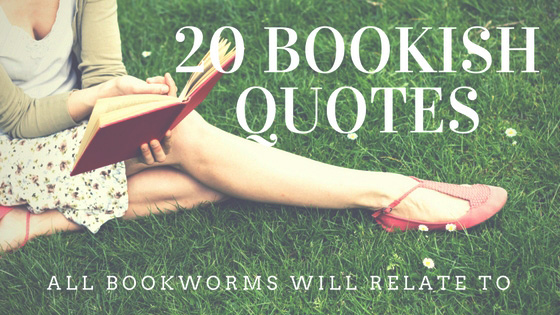 20 bookish quotes