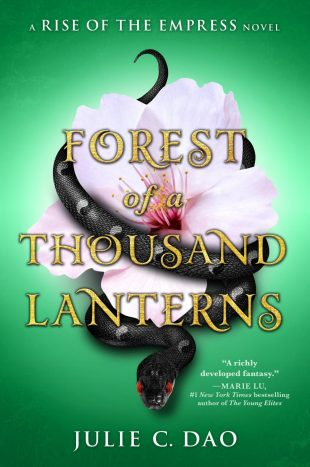 ARC Review:  Forest of a Thousand Lanterns by Julie C. Dao
