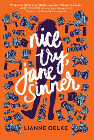 Book Review & Giveaway:  Nice Try, Jane Sinner by Lianne Oelke