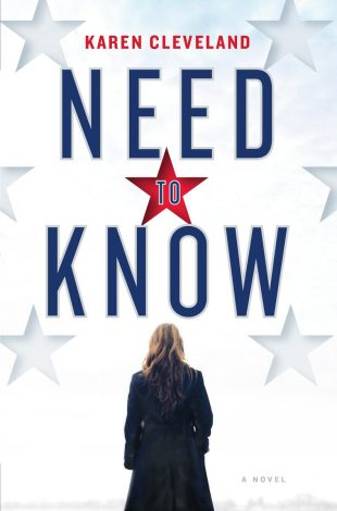 Book Review:  NEED TO KNOW by Karen Cleveland