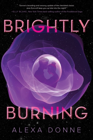 Review:  BRIGHTLY BURNING (a Jane Eyre retelling)