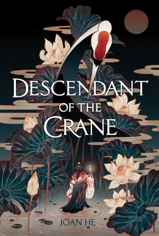 Review:  DESCENDANT OF THE CRANE by Joan He