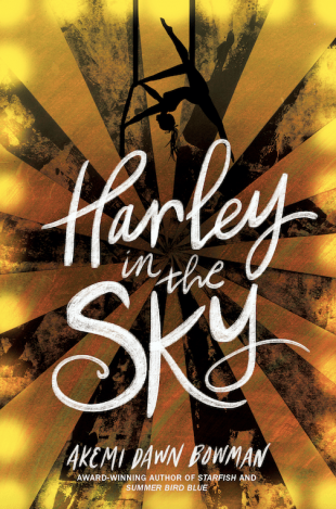 Review:  HARLEY IN THE SKY by Akemi Dawn Bowman