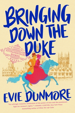 Review:  BRINGING DOWN THE DUKE by Evie Dunmore