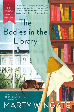 Review:  THE BODIES IN THE LIBRARY by Marty Wingate