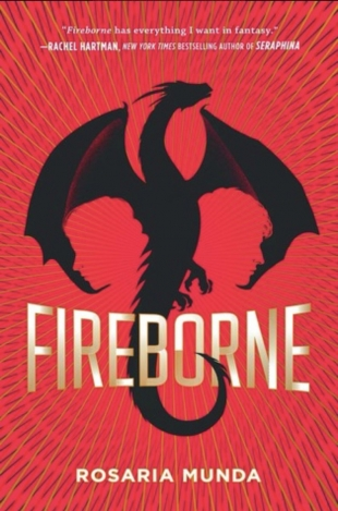 Review:  FIREBORNE by Rosaria Munda