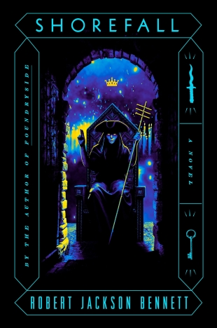 Review:  SHOREFALL by Robert Jackson Bennett