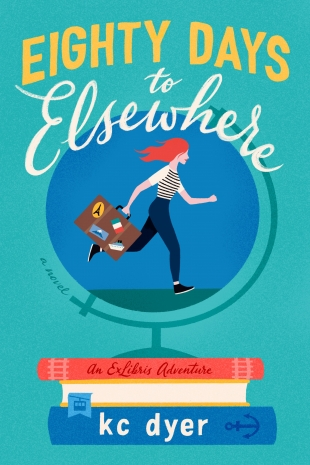 Review:  EIGHTY DAYS TO ELSEWHERE by K.C. Dyer