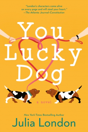 Review:  YOU LUCKY DOG by Julia London