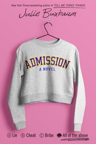 Review:  ADMISSION by Julie Buxbaum