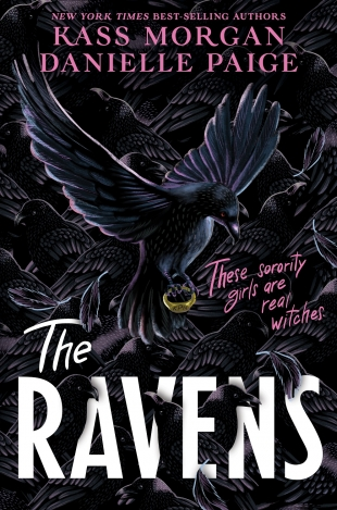 Review:  THE RAVENS by Kass Morgan and Danielle Paige