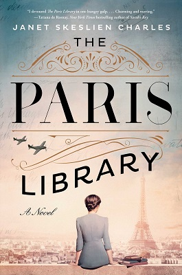 Historical Fiction Review:  THE PARIS LIBRARY by Janet Skeslien Charles